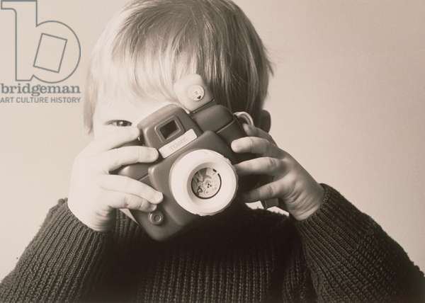 Boy with Toy Camera