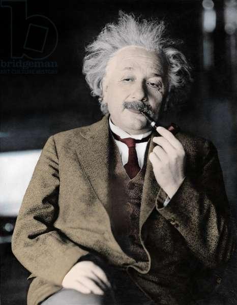 Albert Einstein, German theoretical physicist, 1935