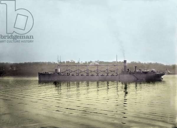 USS. Cyclops, the American ship that disappeared in 1917 without a trace in the Bermuda triangle.