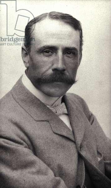 portrait of Sir Edward Elgar (1857-1934) circa 1906.
