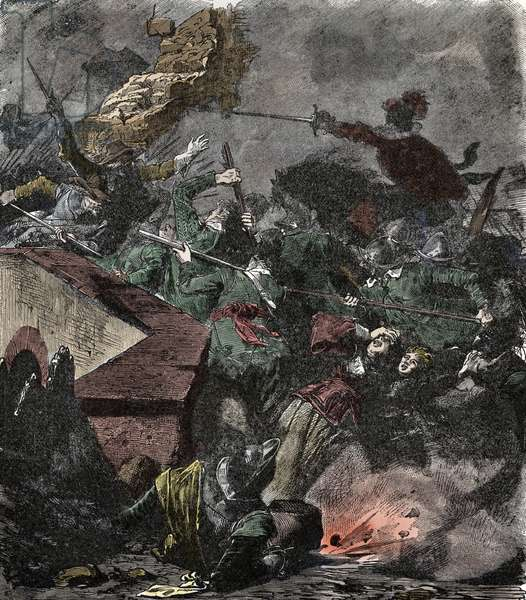 Magdeburg Bag 1631 during the Thirty Years' War - The Storming of Magdeburg