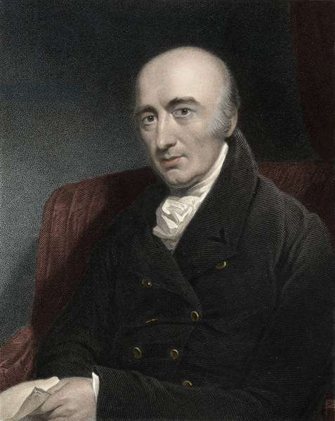 Portrait of William Hyde WOLLASTON (1766-1828) English scholar - William Hyde Wollaston (1766-1828), British scientist and philosopher