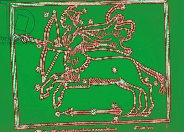 Horoscope: the sign of sagittarius.