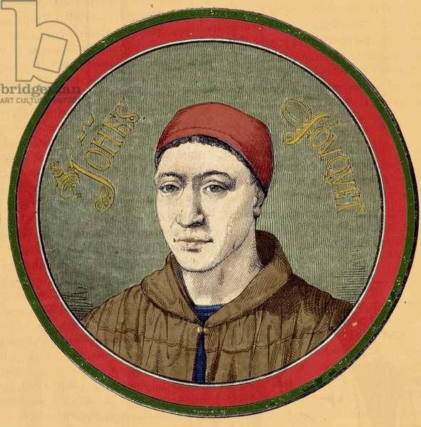 Portrait of Jean Fouquet (French Early Renaissance Painter, ca.1420-1477).