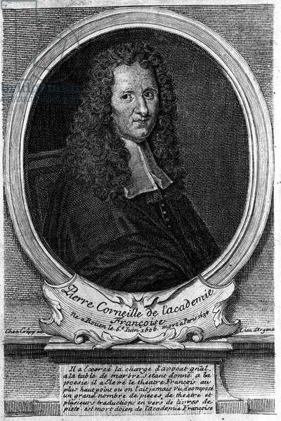 Portrait of Pierre Corneille (1606 - 1684).