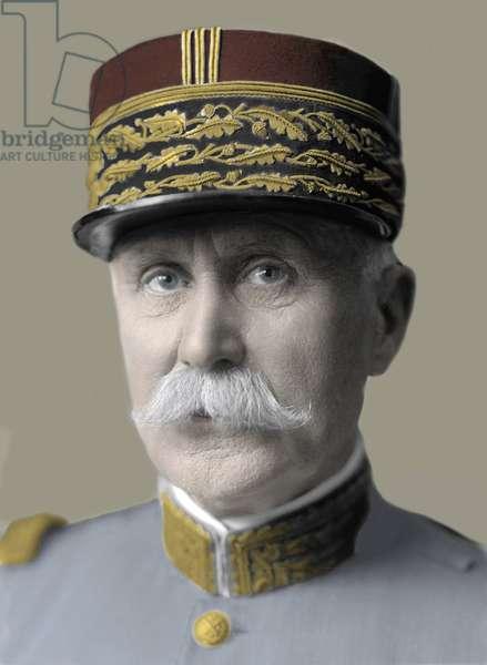 Portrait of Marshal Petain (1856-1951) - Portrait of Marechal Philippe Petain (1856-1951)