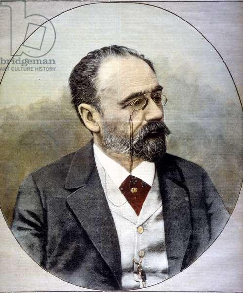 Portrait of Emile Zola, 1898