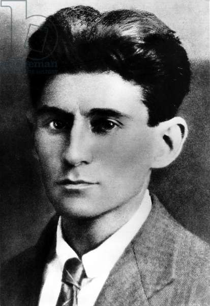 Portrait of Franz Kafka in 1914.