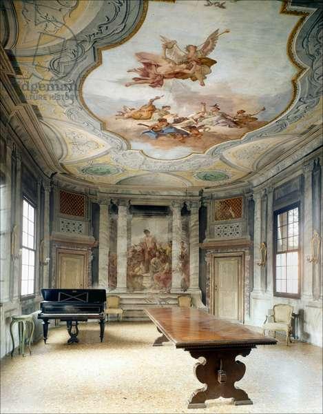 The ospedaletto, the room where Vivaldi played, Venice.