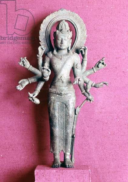 Avalokitesvara.. Buddhist deity. Statuette from Java - 8th century a. C.. Paris, Musée Guimet