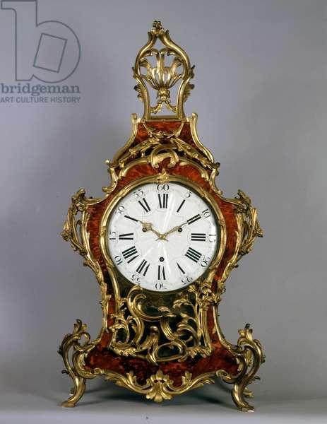 Louis XV clock of 1770 built by P. Jacquot - Droz.