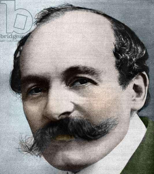 Portrait of  Maurice Leblanc (1864 - 1941), writer and journalist