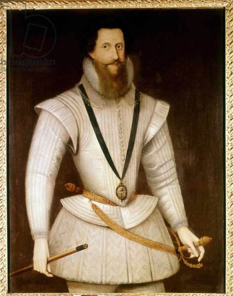 Portrait of Robert Devereux (1566 - 1601), Second Earl of Essex, South-East England. National Maritim Museum, Greenwich.