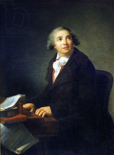 Giovanni Paisiello (or Paesiello) (1740-1816), Italian composer Painting by Marie Elisabeth Louise Vigee Le brun (or Vigee-Lebrun or Vigee Lebrun) (1755-1842) Museo della Scala de Milan