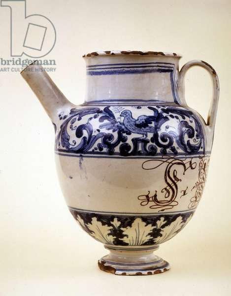 Pharmacy pot, 18th century, Museum of Science and Technology, Milan.