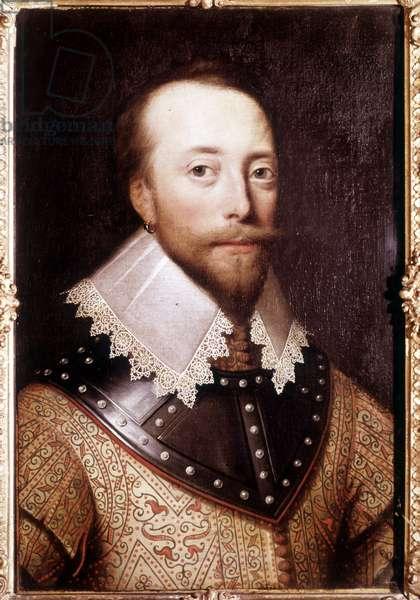Portrait of Sir Martin Frobisher (1535-1594), English navigator.