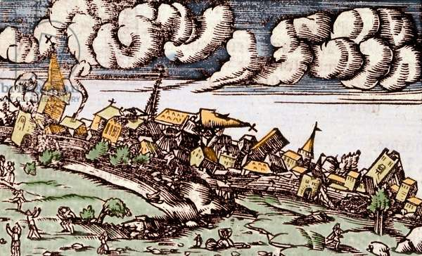 Earthquake in Constantinople on 14/09/1509.