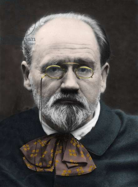 Portrait of Emile Zola 1890s.