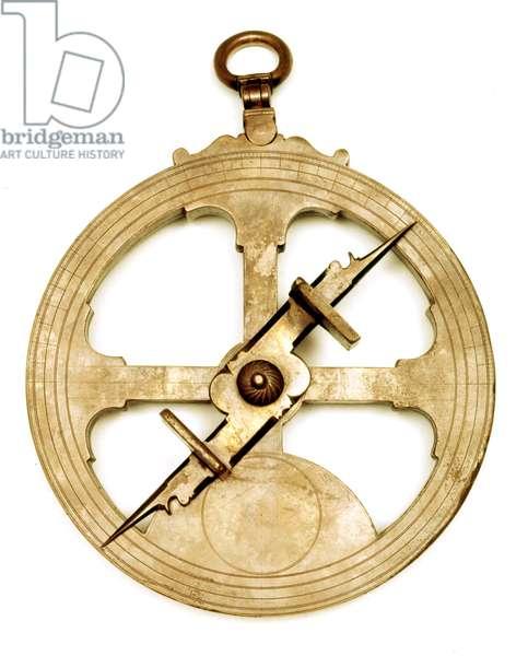 Marine astrolabe of the 16th century