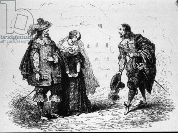 Scene from Don Giovanni (engraving)
