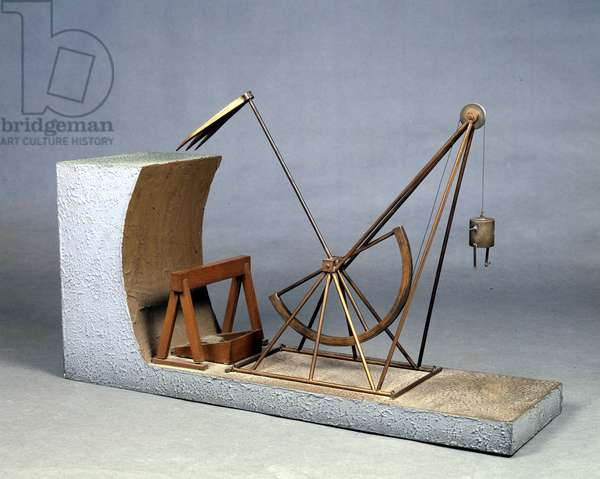 Leonardo da Vinci Excavator (Leonardo da Vinci) - Museum of Science and Techniques of Leonardo da Vinci, in Milan