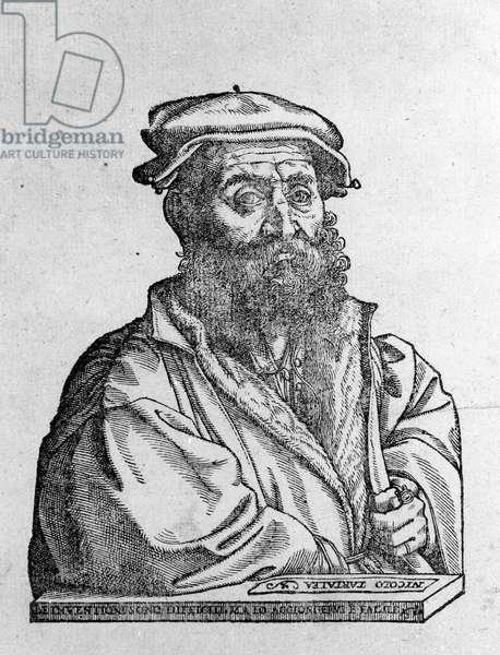 Nicolo (Niccolo) Tartaglia (1499 - 1557) Italian mathematician.