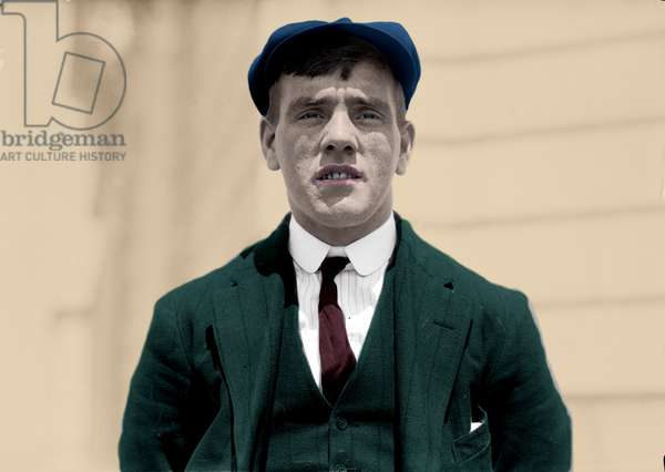 Titanic Disaster, 1912: Portrait of Frederick Fleet, who was the first to see the iceberg on the night of the sinking. Photography