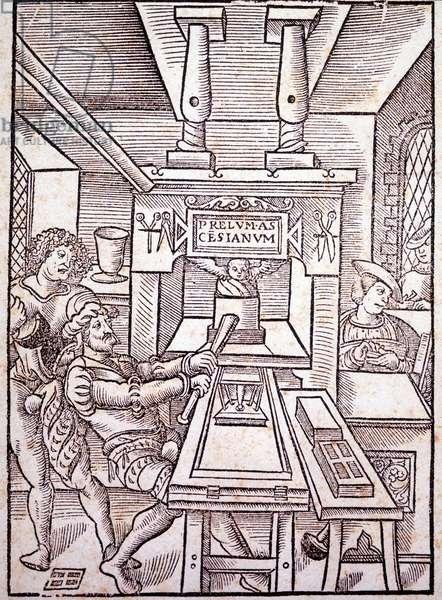 French press. 16th century.