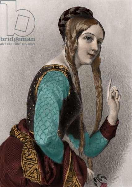 Eleanor of Aquitaine - Alienor d'Aquitaine (1122-1204) (or Eleonore de Guyenne).