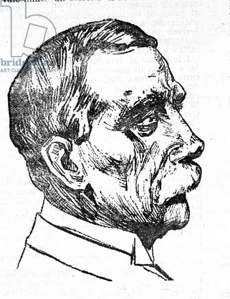 Portrait of John Rockefeller (1839 - 1937), American industrialist.