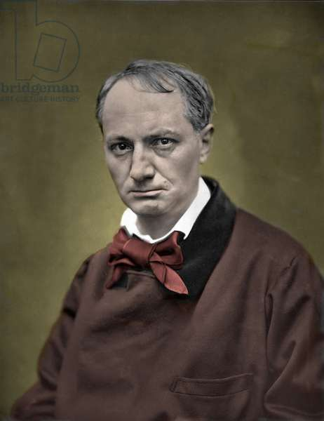 Portrait of Charles Baudelaire, n.d. (photo)
