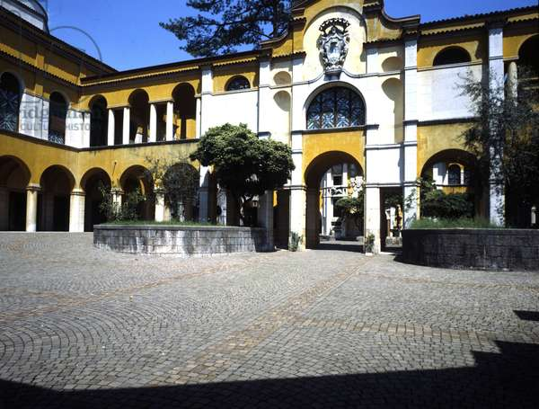 Gardone Riviera, Il Vittoriale, Gabriele d'Annunzio's house.