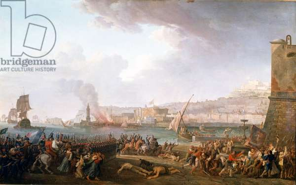 Entry of the French army commanded by General Championet in Naples, 21/01/1799. Painting by Taurel Jean Jacques François (1757 - 1832). 1799. Castles of Versailles and Trianon.