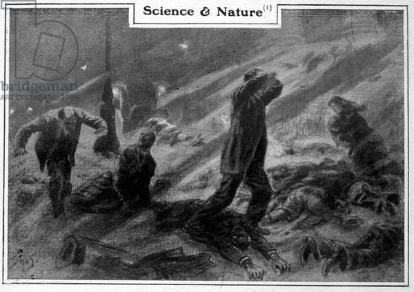The end of the world: humanity perishes from asphyxiation. 20th century.