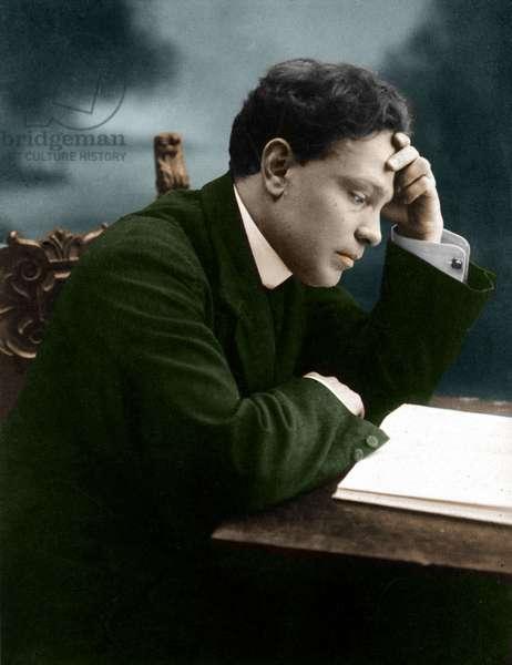 Ottorino Respighi (coloured photo)
