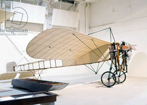 Louis Blériot XI Blériot with whom he crossed the Channel