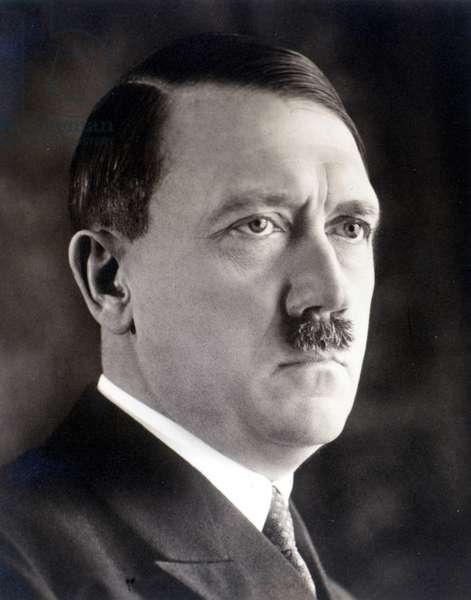 Portrait of Hitler in 1935.