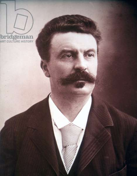 Portrait of Guy de Maupassant
