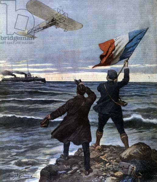 Louis Bleriot crossed the Channel in August 1909
