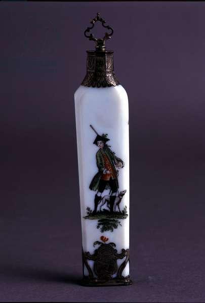 Bottle for 18th century ceramic perfumes.
