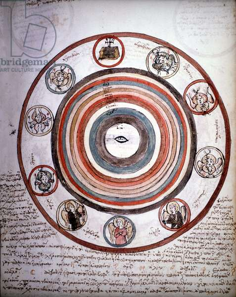Medico-astrological treatise of Pedanius Dioscoride (Dioscorides) Anazarebus. 14th century manuscript.