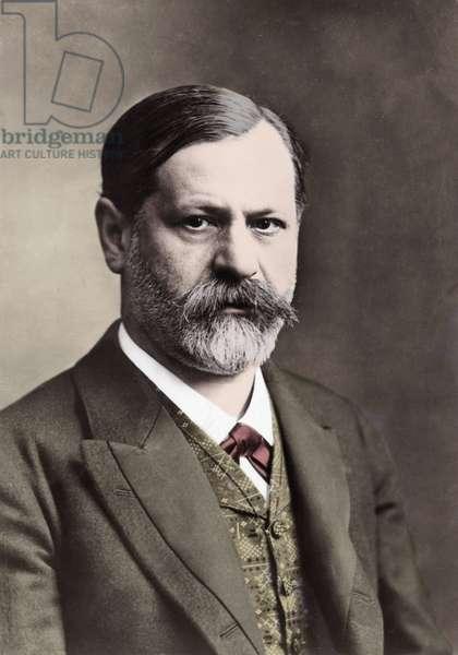 Portrait of Sigmund Freud in 1912