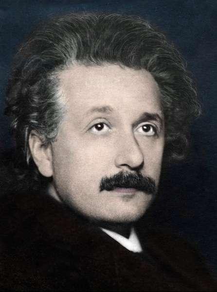 Albert Einstein (1879-1955) in 1920.