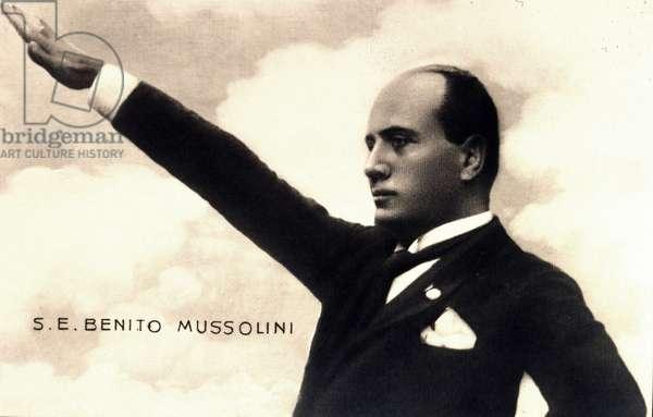 Benito Mussolini in 1925