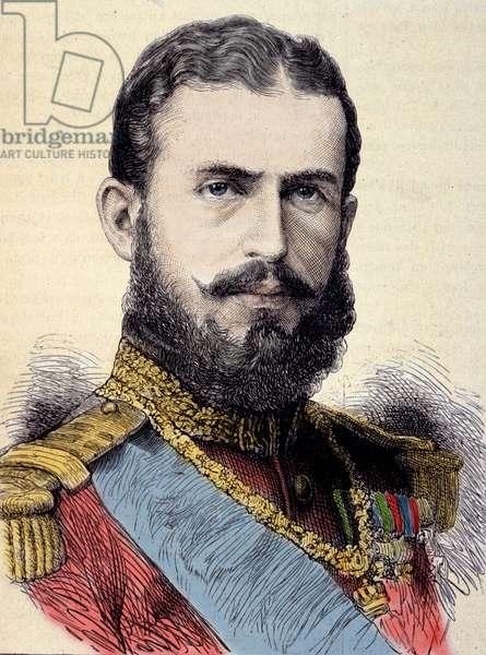 Portrait of Charles I (Carol I) (1839-1914), King of Romania.