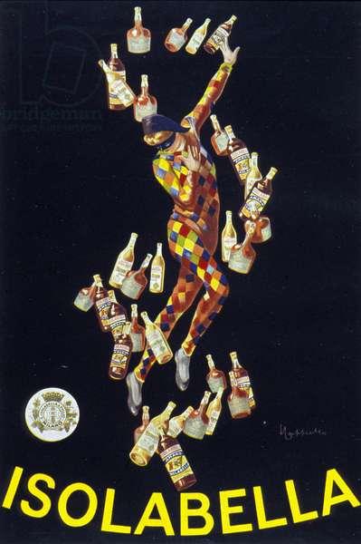 poster for Isolabella. Illustration by Leonetto Cappiello. 1910.