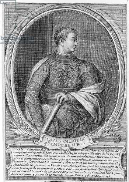 Caius Caesar Germanicus, known as Caligula (12 - 41), Roman Emperor.