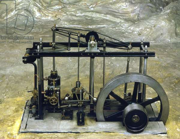 James Watt Steam Machine, Museum of Science and Technology, Milan.