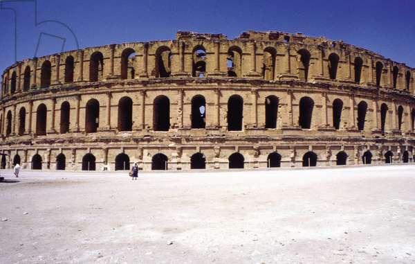 Amphitheatre of El-Djem (Tunisia).