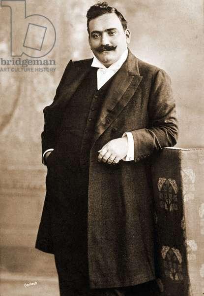Enrico Caruso (1873-1921), Italian tenor. 20th century photograph.